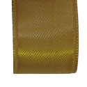 Gold double faced satin ribbon