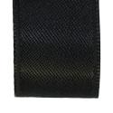 Black woven ribbon
