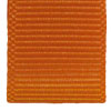 Bright Orange grosgrain ribbon