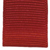 Bright Red ribbed ribbon
