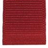 Cardinal Red ribbed ribbon