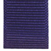 Purple ribbed ribbon