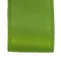 Lime Green woven satin ribbon