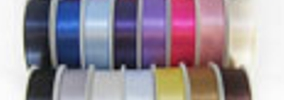 Wedding ribbon by Printed Ribbon UK